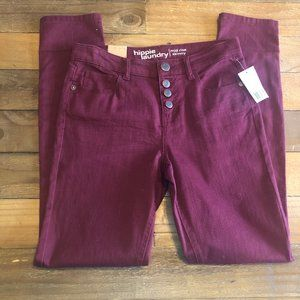 Hippie Laundry NWT color denim button fly jeans 28